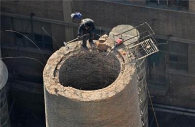 阜新烟囱刷漆公司烟囱外壁防腐施工单位