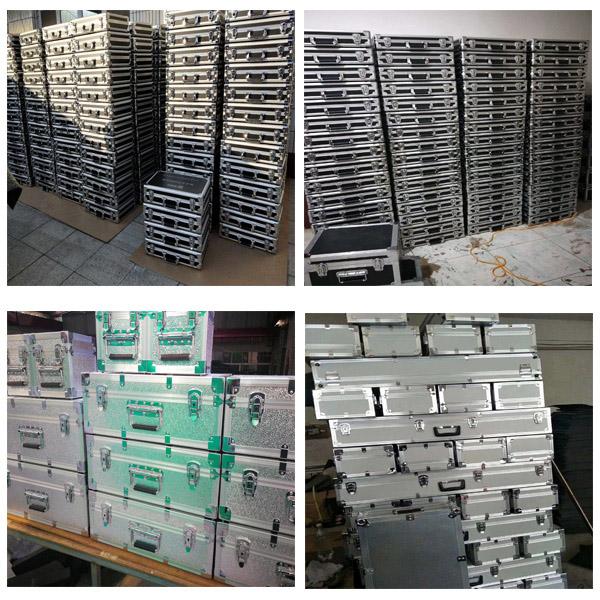 西安市定制铝合金影视器材箱定做正天铝箱批发