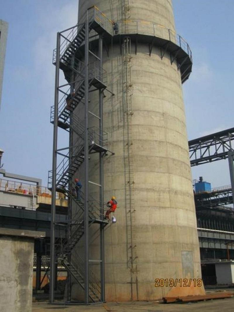 广安邻水钢烟囱制作安装公司——值得信赖