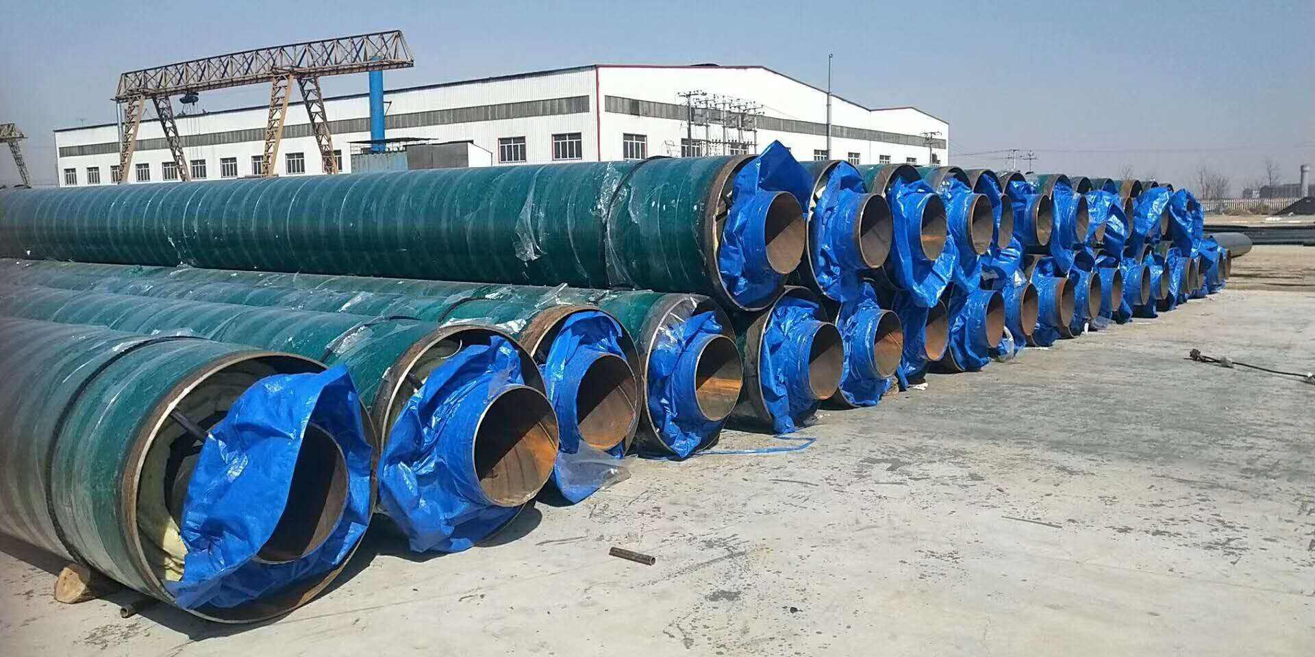哪里生产大口径聚氨酯发泡保温钢管多少钱一米