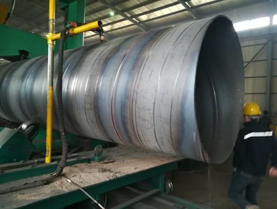 排水用1320*11螺旋防腐钢管一吨价格