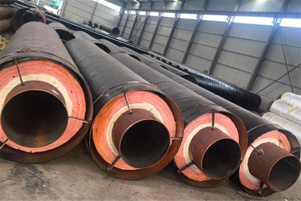 黄石市热力用钢套钢岩棉保温管优惠价格