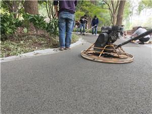 永州C25透水混凝土工艺介绍
