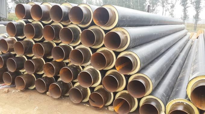 盐城阜宁供暖用聚氨酯发泡热力管网保温管质量好