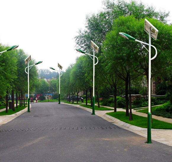 霸州农村6米太阳能路灯30瓦廊坊买哪种好