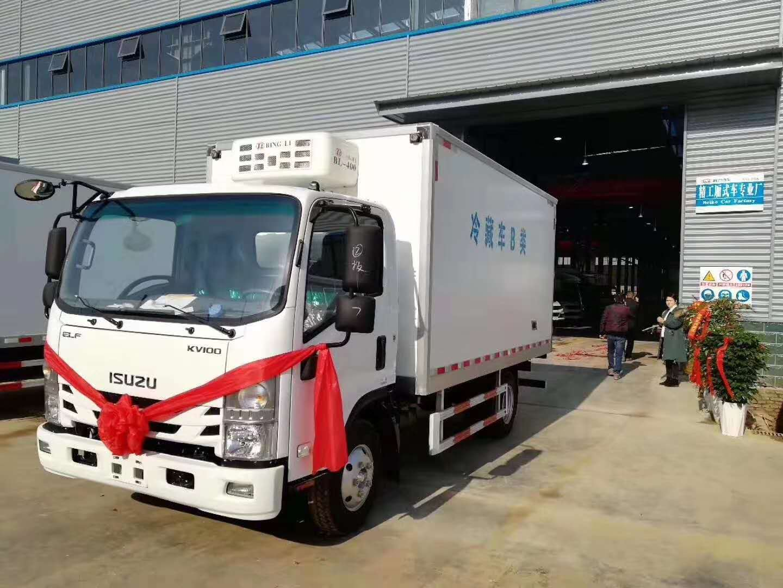 湘潭市国六奥铃速运鲜奶运输车您值得拥有