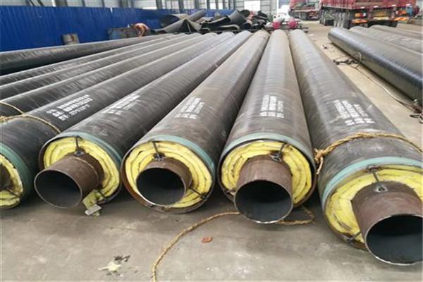 114x4钢套钢蒸汽保温管辽宁问畅销全国