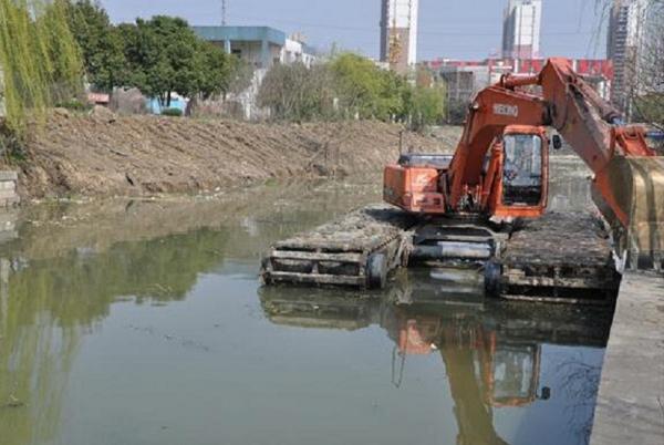 安阳河道清淤工程|环保清淤