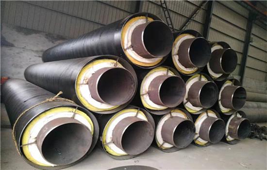耐高温钢套钢DN450直埋保温管批发价格-友浩管道