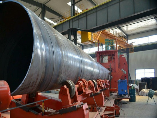 现货:给水埋地管线用防腐钢管附厂家莱城