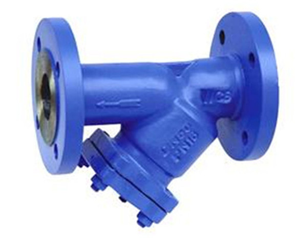 Y型拉杆伸缩过滤器平底高低蓝式过滤器东港市