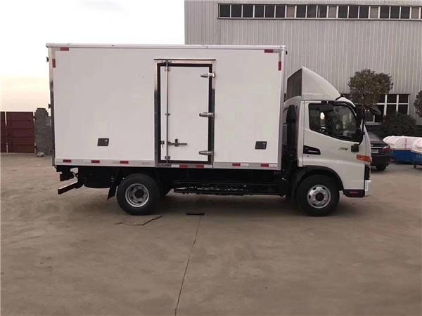 阳新庆铃五十铃600P米冷藏车便宜的促销