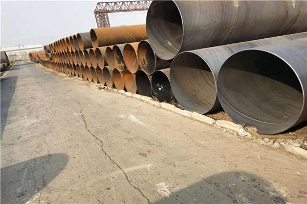 咸宁排水用大口径Q235B螺旋钢管一吨多少钱