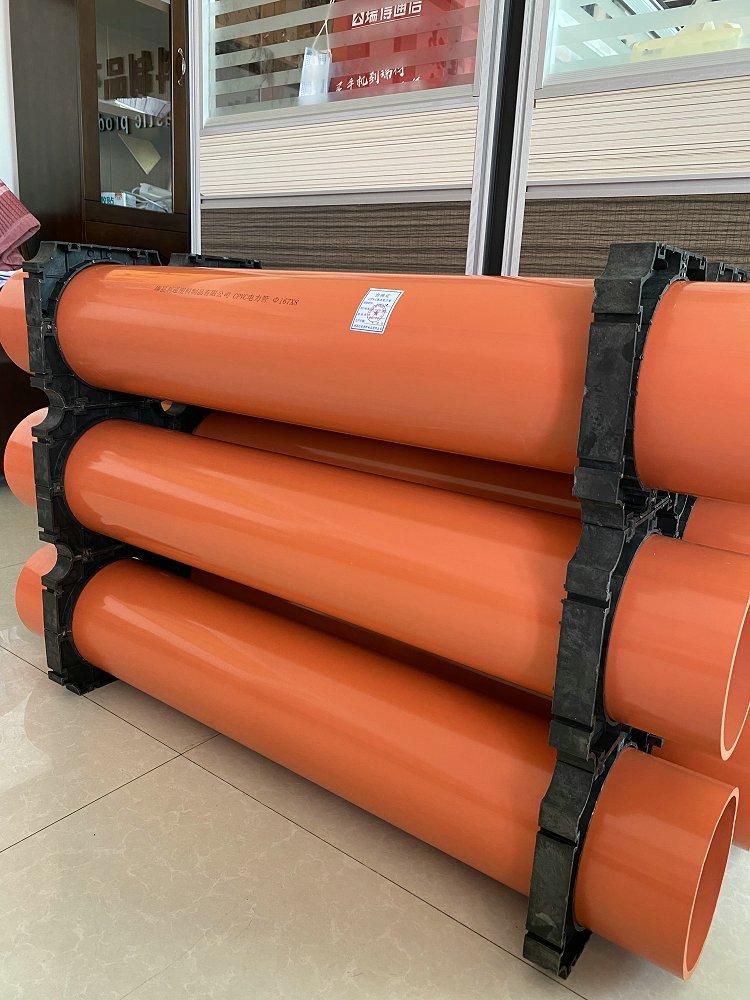 龙岩市连城县pvc电力管管枕生产厂家
