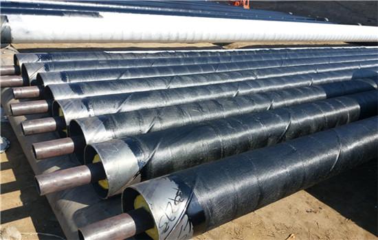 直埋式钢套钢蒸汽保温管批发价格-友浩管道