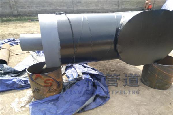 沧州海兴预制聚乙烯外套保温三通安装方案-兴松管道