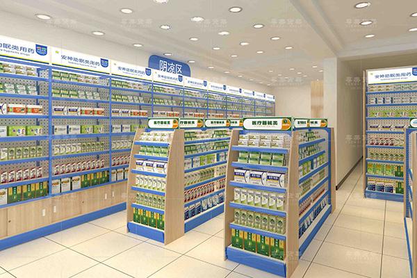 东源县连锁药店货架设计布局