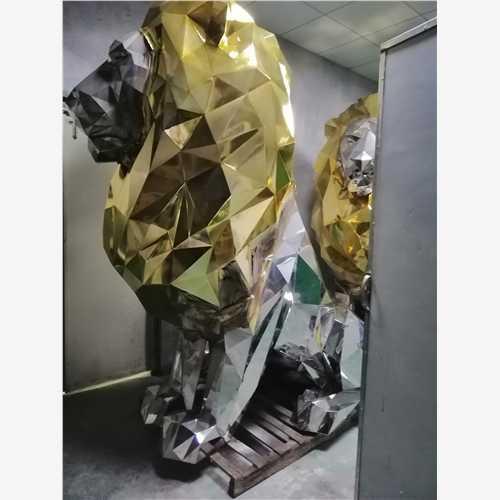 鞍山雕塑厂家玻璃钢气球狗雕塑现货