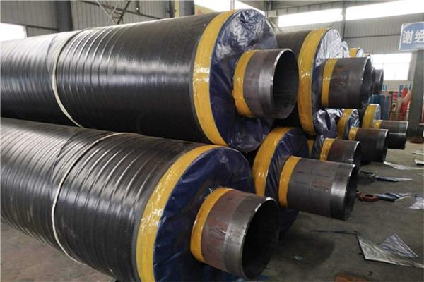 铁东预制钢套钢预制保温管多少钱地埋走水用
