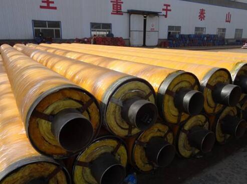 高温直埋式预制保温DN720聚氨酯螺旋钢管价格报价一米价格