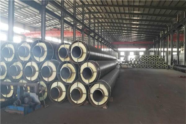 临沂兰山预制钢套钢直埋保温钢管厂家现货价格