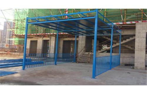 滨州配电箱防护棚-悬挑式卸料平台生产厂家