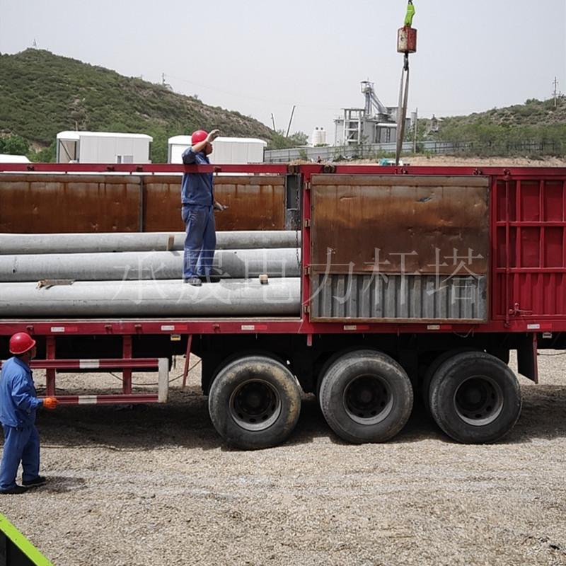 邯郸鸡泽8米水泥通讯杆组图厂家直销