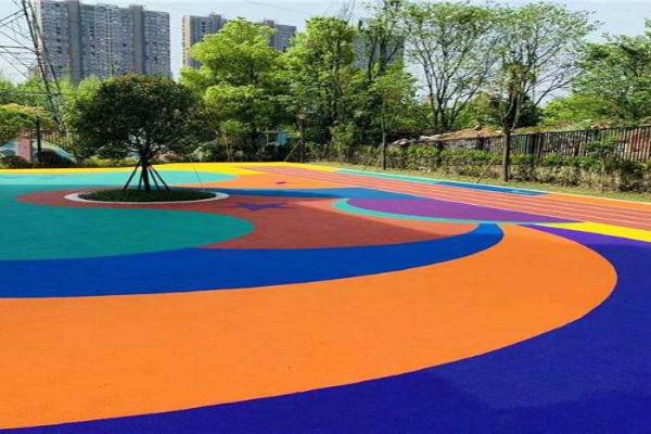 上城硅pu塑胶羽毛球场施工厂家