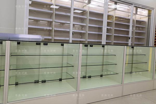 紫金县药店货架展示架热卖款式粤美货架