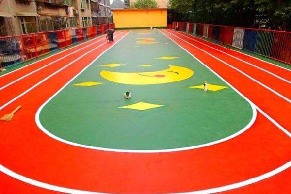 金华义乌学校塑胶跑道建设