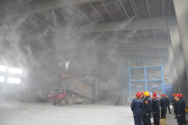 博山污水处理工程施工-工厂