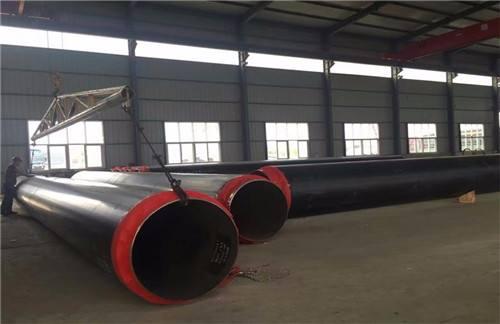 金山屯小区供暖高密度聚乙烯外套直埋保温螺旋焊管实体厂家
