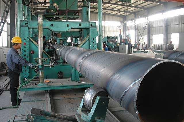 DN1400埋地排水用螺旋钢管生产厂家