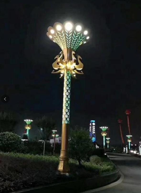 张家界柱形景观灯-厂家实惠价格-咨询宇宏照明