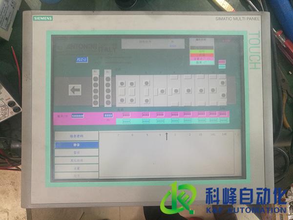 广州AB触摸屏无显示维修公司