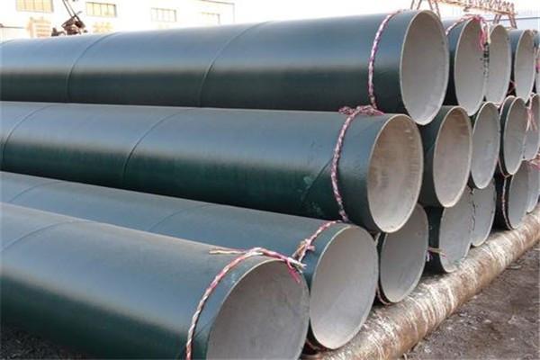 DN900x8环氧树脂防腐螺旋钢管给水管线用