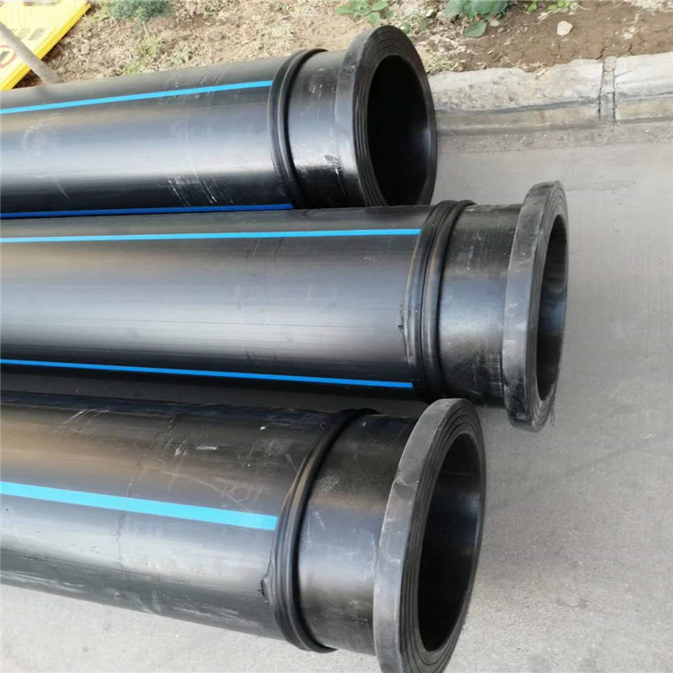 嘉兴市pe给水管 打孔渗透管200口径pe管材 厂家