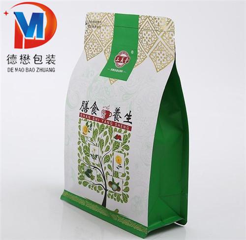 自立拉链食品包装袋定做德懋塑料自立拉链食品包装袋厂家推荐图片陵城