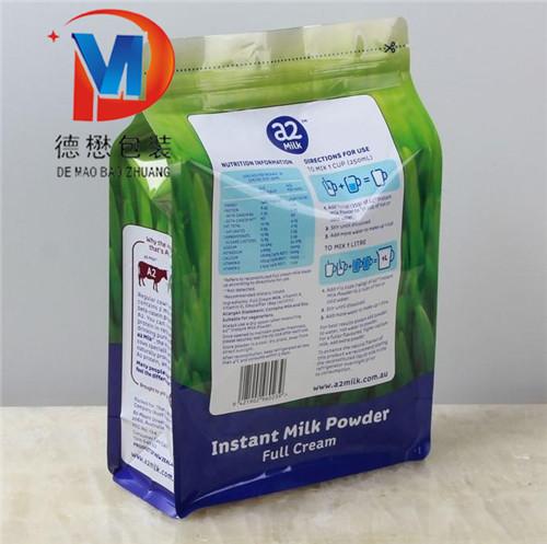 济宁八边封面粉包装袋定做设计规格八边封面粉包装袋定做