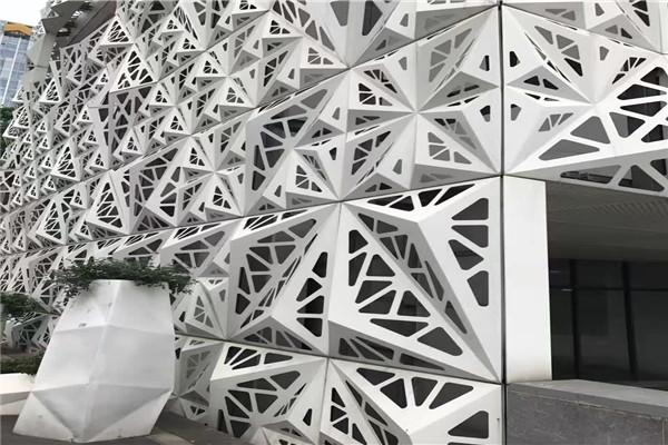 新余渝水雕花氟碳雕花铝单板性能特点