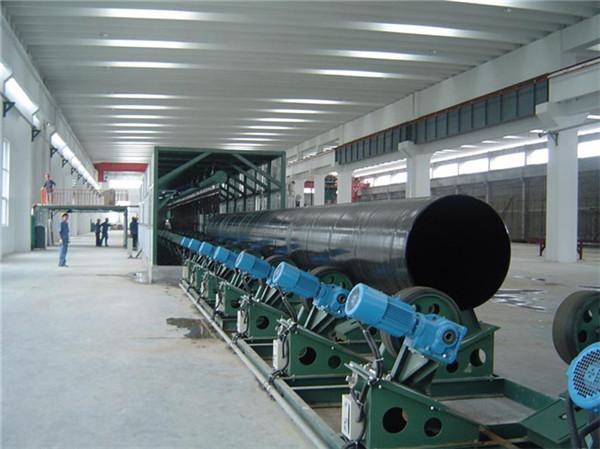 包覆式供水管道用三层聚乙烯防腐螺旋管厂家报价定西