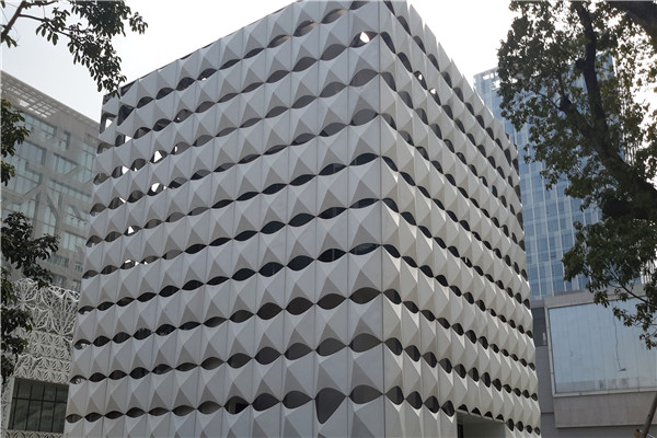 中山镂空外墙铝板,雕花铝单板铝乐厂家
