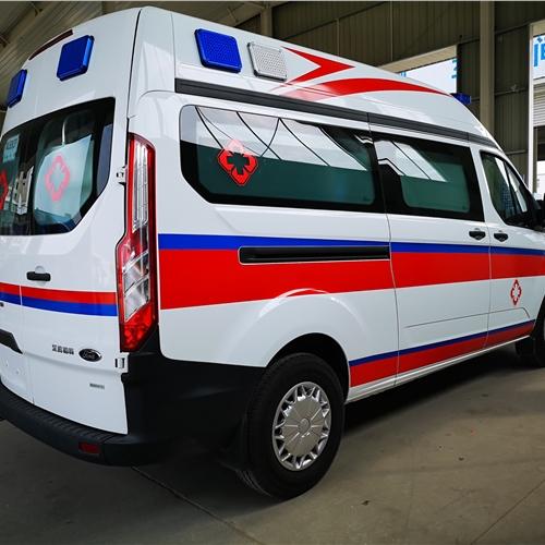 渭南江铃特顺救护车救护车图片