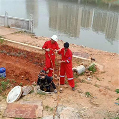 安乡潜水员安装桥桩防撞块班组持证施工