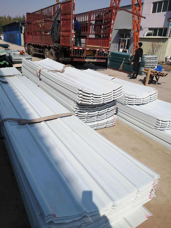 玻璃钢阳光板(菏泽)frp采光带欢迎来厂家参观