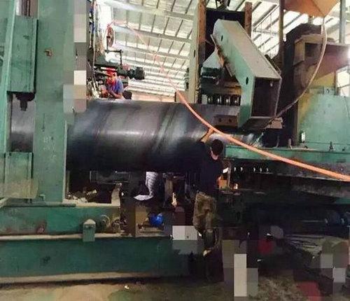 厂家送货:埋地引水管采用螺旋钢管过磅价格钦州