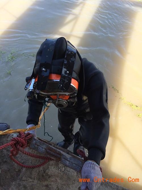 烟台市水下维修公司——专业蛙人潜水队
