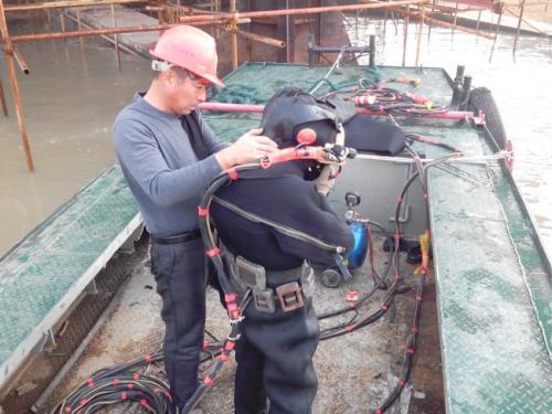 青岛市潜水员打捞队——本地潜水队伍