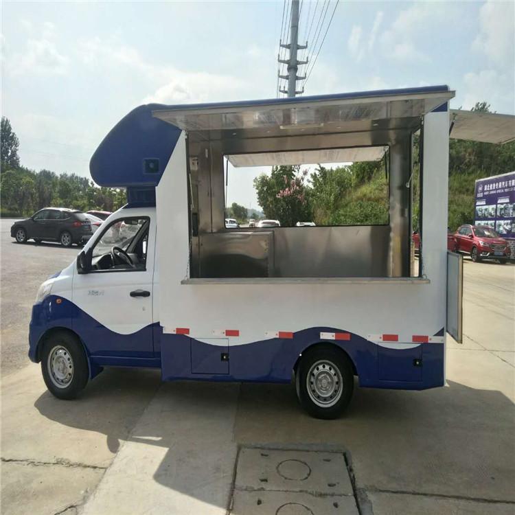 农村移动理发店上门美发户外多功能流动售货车