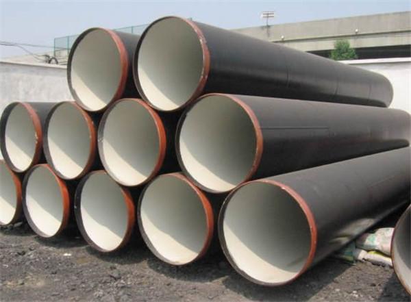 埋地内环氧树脂外聚乙烯复合钢管加工厂家安龙